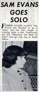 Sam Evans Pop Gear June1966