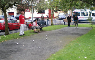 Petanque at The Mumbles in Wale