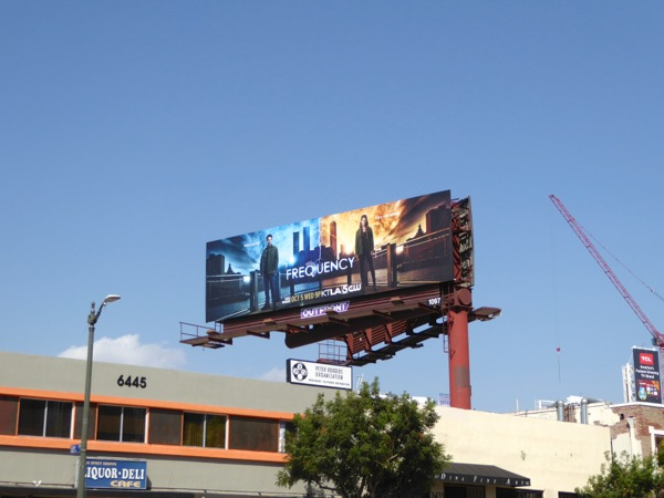 Frequency series premiere billboard
