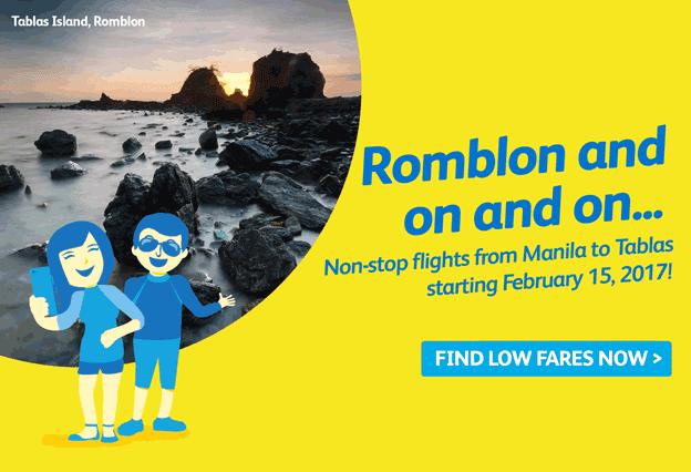 Cebu Pacific Manila to Romblon 2017