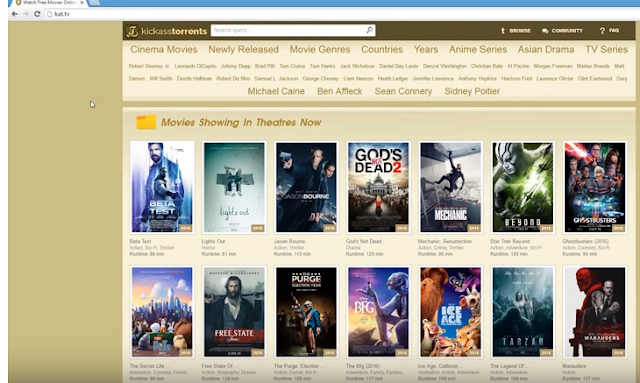 FREE ONLINE MOVIES WEBSITE'S