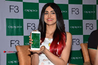 Bollywood Actress Adah Sharma Pos in White Printed Short Dress at OPPO F3 Plus Selfie Expert Mobile Launch .COM 0095.jpg
