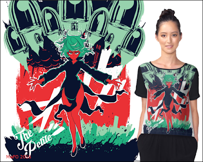 Tatsumaki+one punch man+shirt+woman+graphic+buy+redbubble