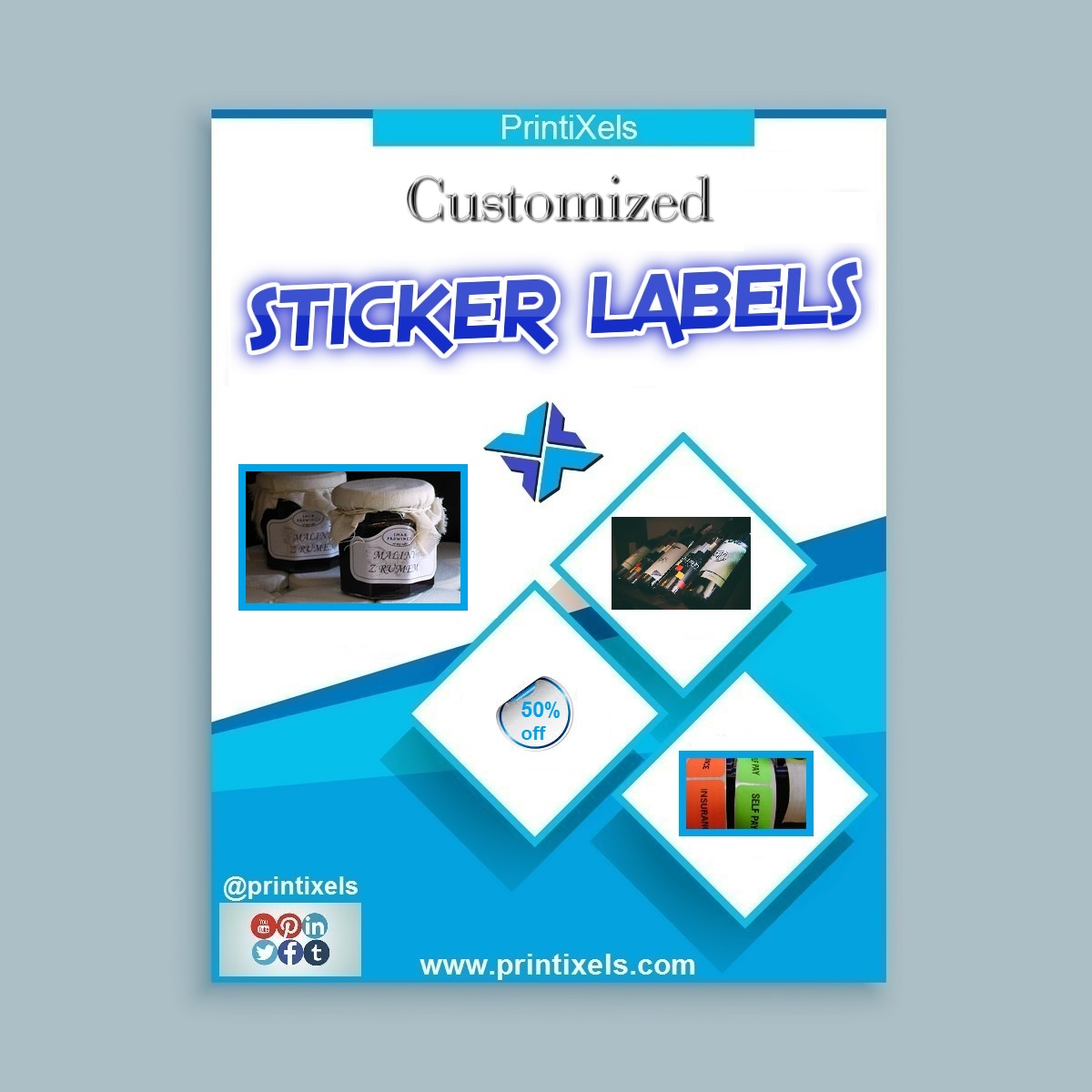 Sticker Label Printing Services