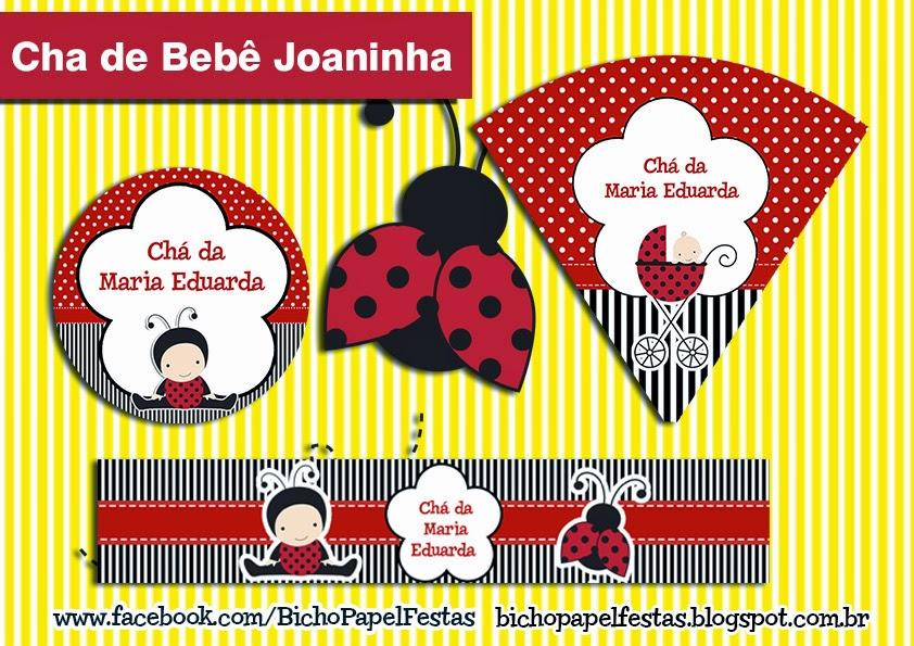 Kit Festa Digital Joaninha