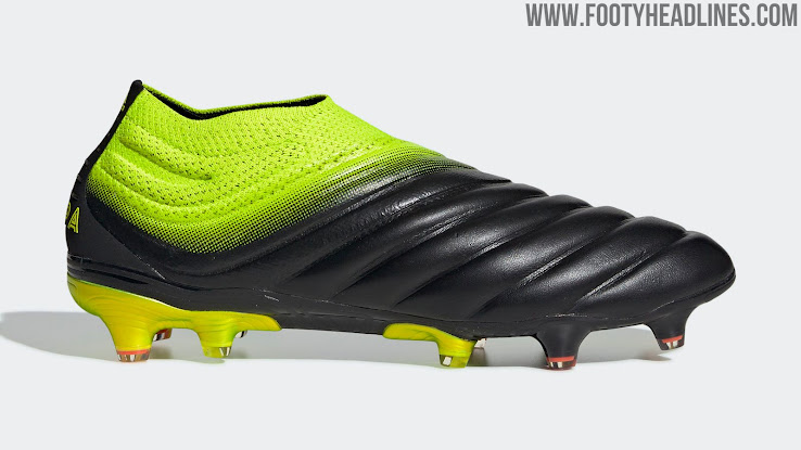 Black Yellow Adidas Copa 19+ 'Exhibit Pack' Boots Released