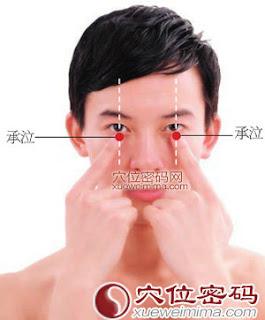 承泣穴位 | 承泣穴痛位置 - 穴道按摩經絡圖解 | Source:xueweitu.iiyun.com