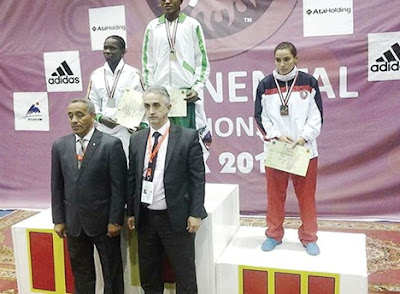 nigerian wins african wrestling championship