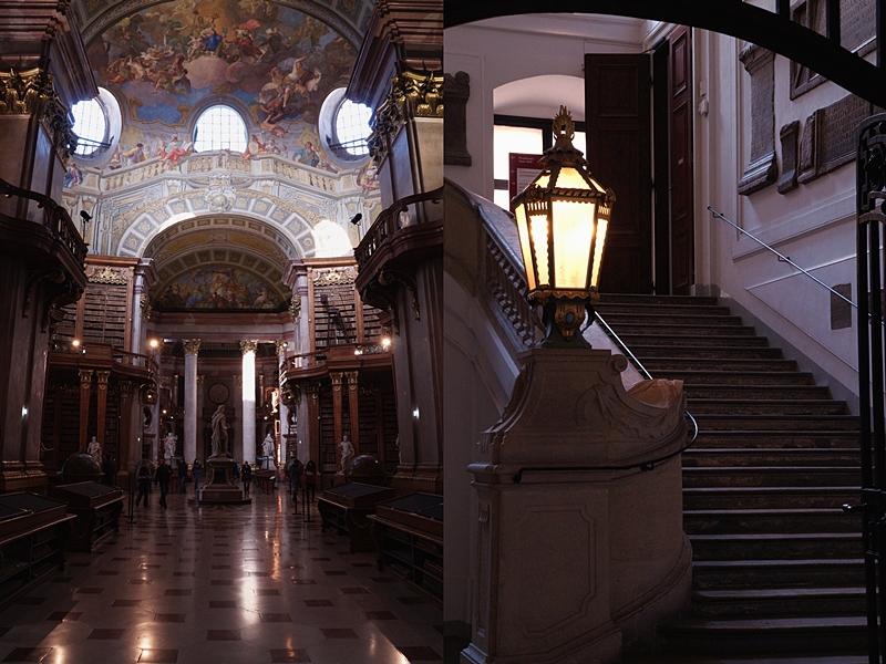 Prunksaal Österreichische Nationalbibliothek Wien von innen