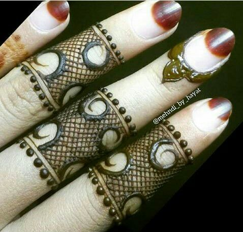 45 Latest Finger Mehndi Designs Finger Mehndi Style Bling Sparkle