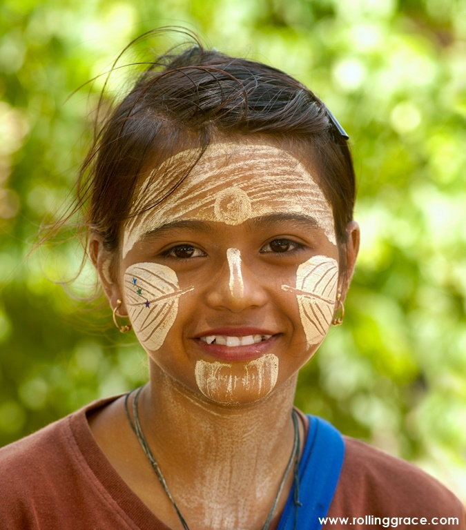 Myanmar's unique traditional beauty treatment