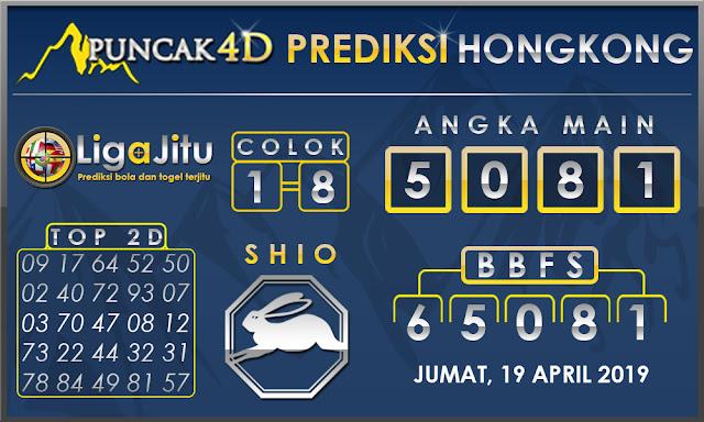 PREDIKSI TOGEL HONGKONG PUNCAK4D 19 APRIL 2019
