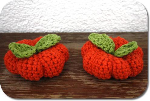 Free crochet pattern - crochet pumpkin pattern