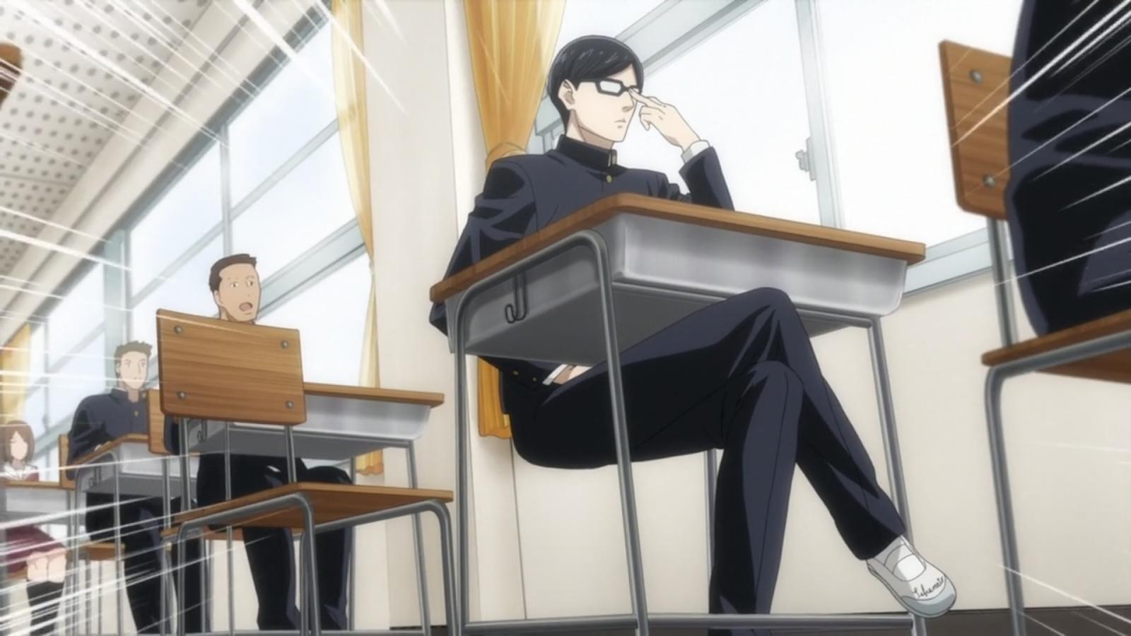 Dan Dia Merupakan Siswa Yang Tiap Ngapain Aja Selalu Bersikap Cool Sampai Diidolakan Seluruh Kelas Dari Sisi Grafis Anime Ini Bagus Banget