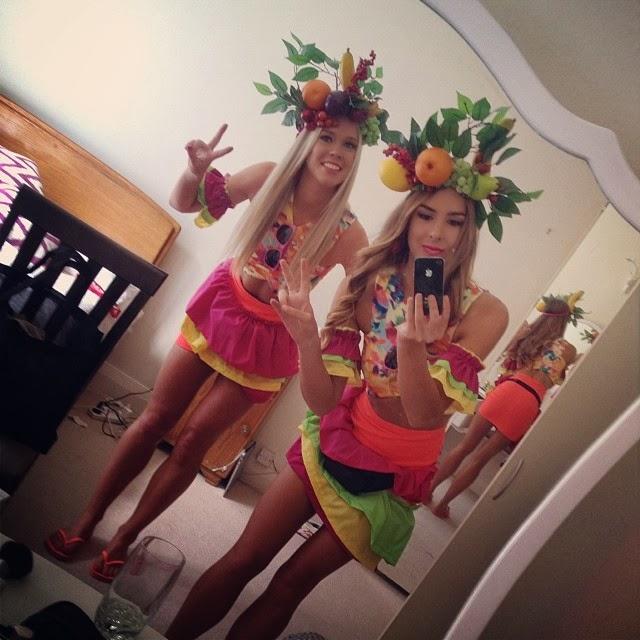 carmen miranda costumes skinny girls