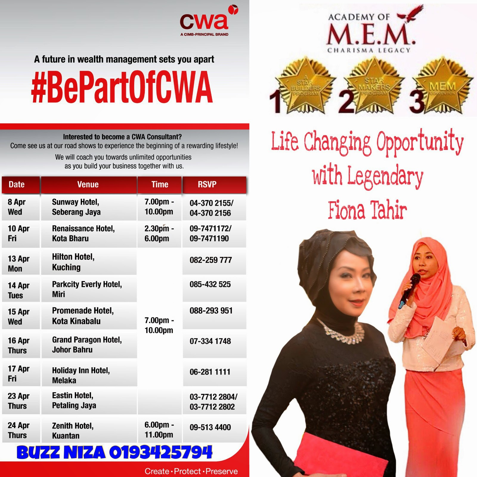 CWA Grand Business Opportunity