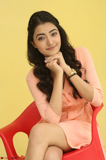 Rukshar Mir in a Peachy Deep Neck Short Dress 045.JPG