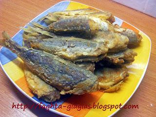 Ψάρια τηγανιτά σαβόρο - από «Τα φαγητά της γιαγιάς»