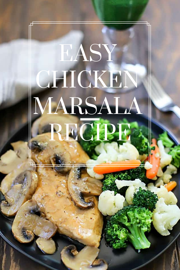 #Easy #Chicken #Marsala #Recipe