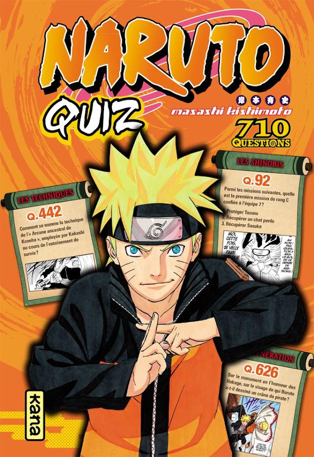 Naruto Quiz - 710 questions