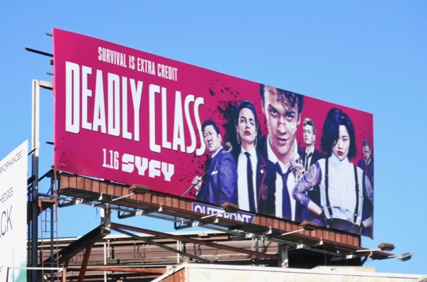 Deadly Class series launch billboard