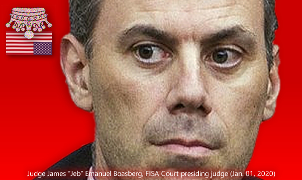AFI. (Jan. 08, 2019). Outrageous Discovery: New FISA Court Judge James E. Boasberg falsified his senate ethics disclosures to hide anti-American leftist bias and propagandists. Americans for Innovation.