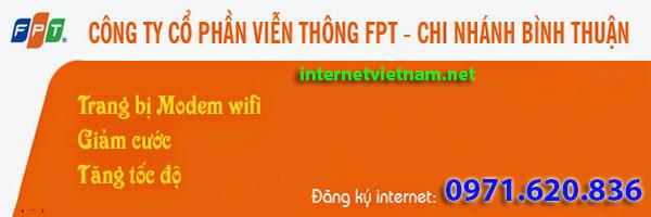 Đăng Ký Lắp Đặt Internet FPT Thị Xã La Gi, Bình Thuận