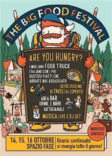 The big Food Festival 14-15-16 ottobre Alzano Lombardo (BG)