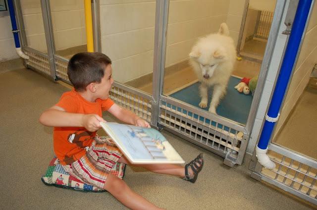 Muy buena idea para que los niños aprendan a cuidar a los seres vivos...¡leyendo!
