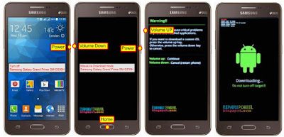 Download mode Samsung Galaxy Grand Prime SM-G530H