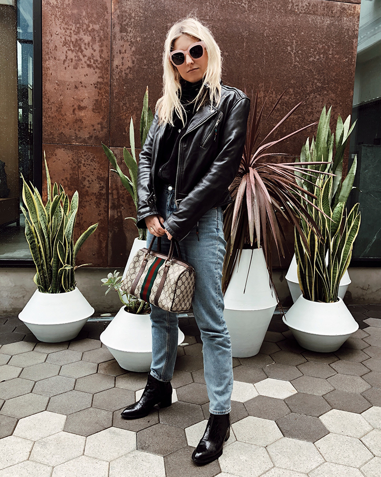 @heleneisfor gucci speedy bag rag & bone boots monki jeans blk dnm leather perfecto, wyeth eyewear
