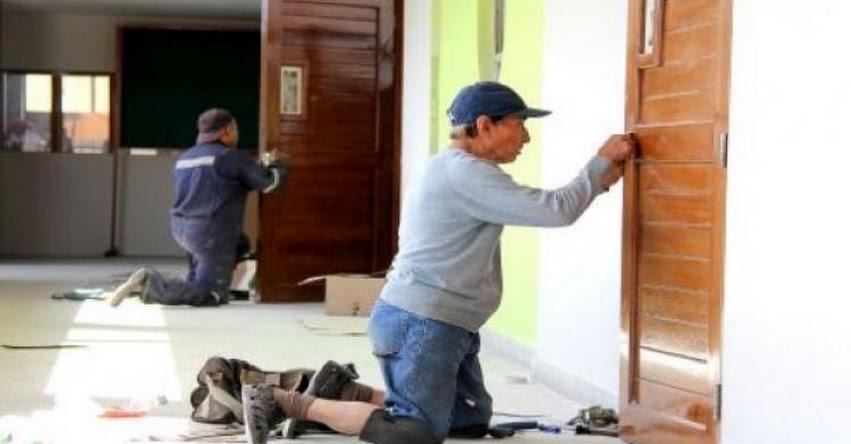 PRONIED transfirió S/ 12.8 millones a 2134 colegios de Amazonas para el mantenimiento de sus infraestructuras - www.pronied.gob.pe