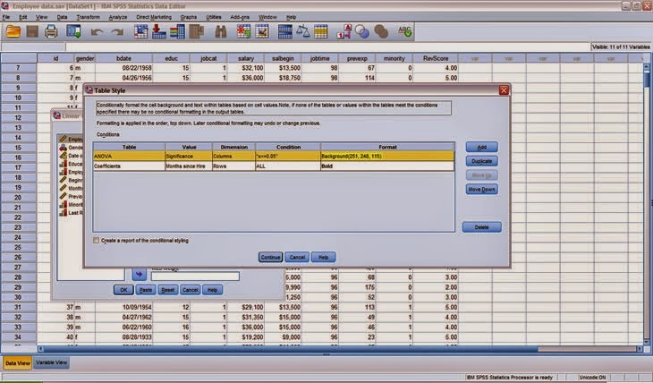 IBM SPSS Statistics v22 screenschot
