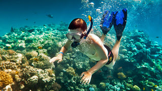 All About Bali Snorkeling in Bali Blue Lagoon