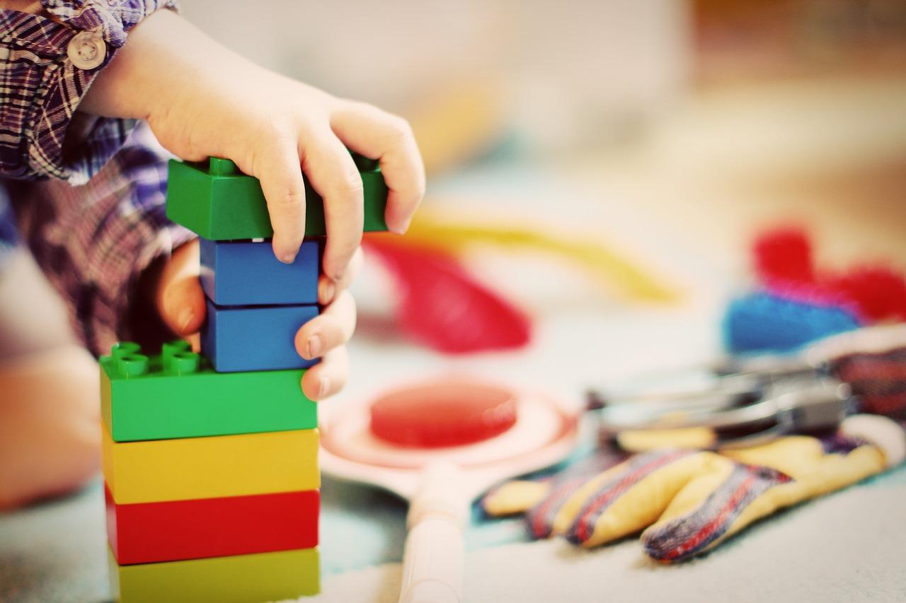 klocki jako prezent dla dziecka