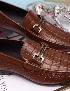 Giày da nam giay luoi Salvatore Ferragamo1