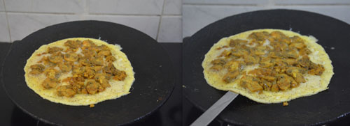 How to make Mushroom Omelette