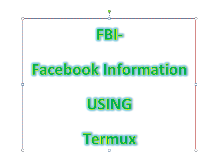 FBI - Facebook Informations - in Termux | Vabs tutorials
