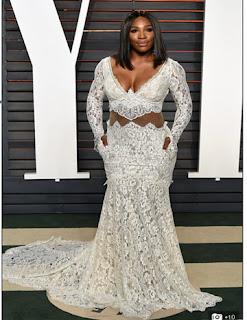 Serena espectacular en los Vanity Fair
