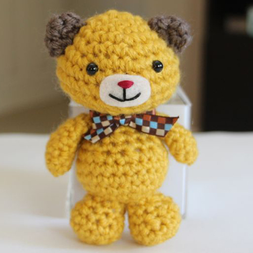 Little Mini Bear - Free Pattern