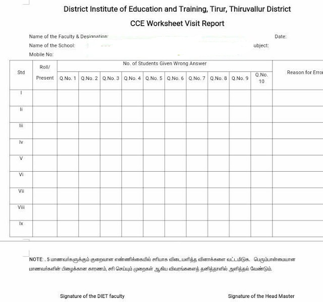 CCE Worksheet Result Analysis ALL FORMS FOR TEACHERS AND STUDENTS – In School Suspension Worksheets