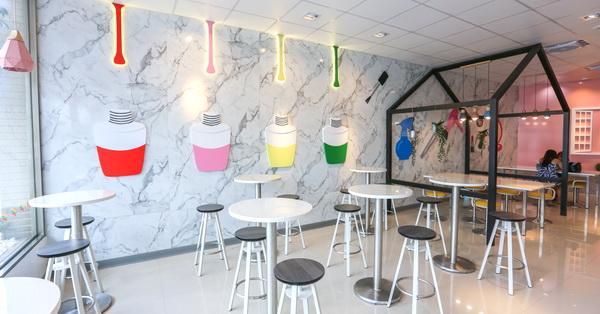 《台中.西屯》中科最美的統一超商7-11科雅門市|特色超商|網美聚集地