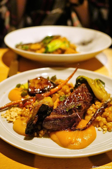 Moroccan Duck at Timna in New York City