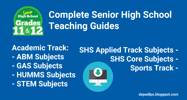 New Complete Senior High School Teaching Guides - DepEd LP\'s