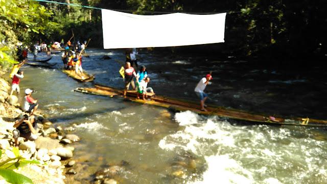Festival Lokasado Bamboo Rafting 2017