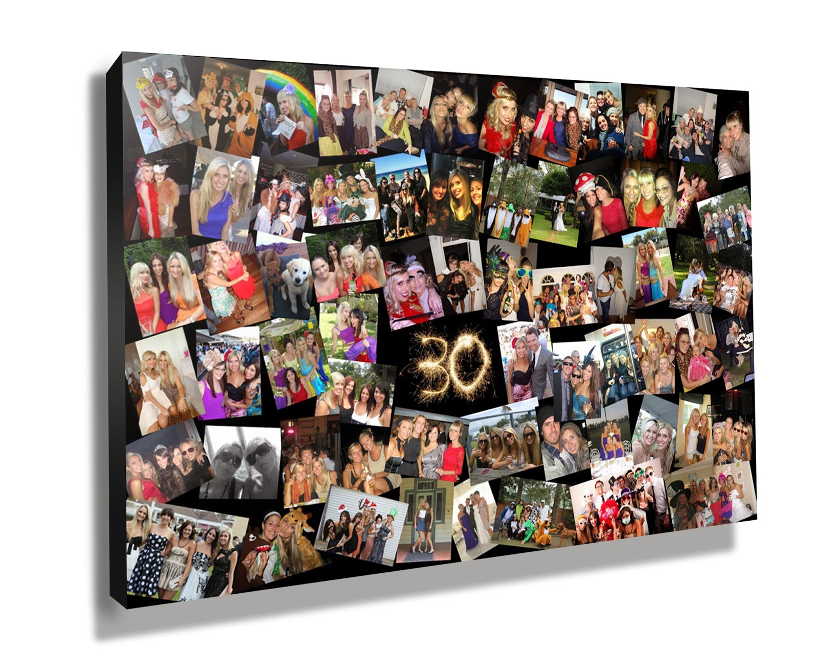 Photos On Canvas Are Art Decorations