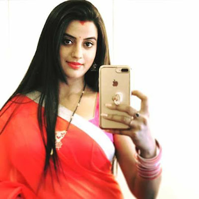 Akshara Singh beautiful selfie Photo