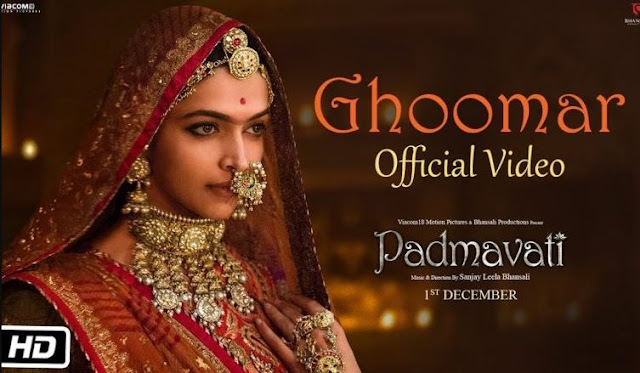 padmavati-ghoomar-song-out-watch