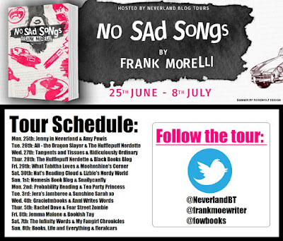 No Sad Songs by Frank Morelli Neverland Blog Tours