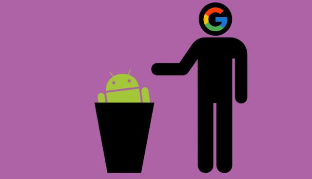 جوجل تحذف جميع النسخ الاحتياطية لأجهزة الاندرويد غير النشطة